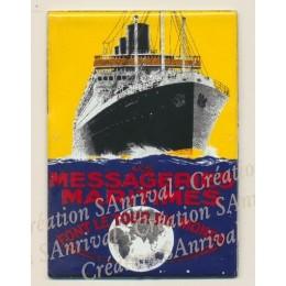 """Magnet """"Messageries Maritimes"""""""