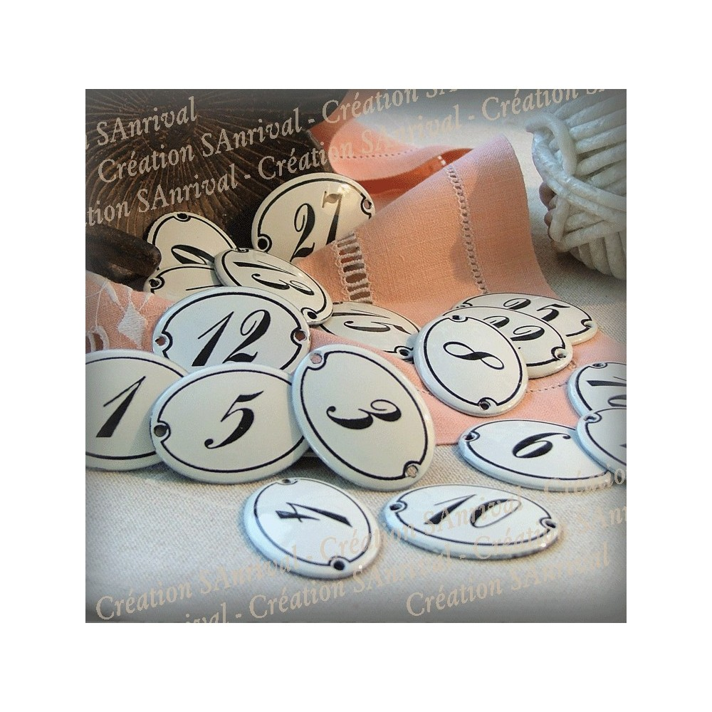 Artisan de plaques maill es l 39 ancienne personnalis es - Decoration ancienne pas cher ...