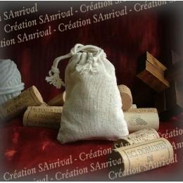 Small linen bag
