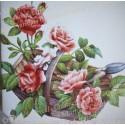 Décor Panier de Roses zoom
