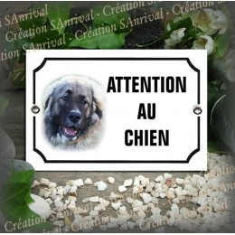 enamelled plate with your dog's photo
