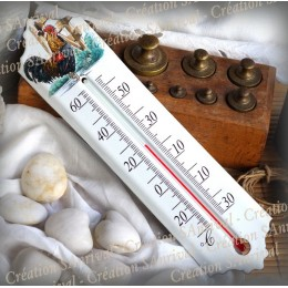 Enamel thermometer decoration Chicken