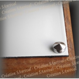 Kit 4 Hiding place-screw of color silvered