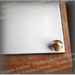 Kit 4 cache-vis couleur doré