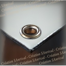 eyelet for enamel protection during screwing